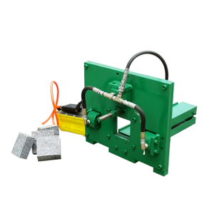 Portable Pneumatic Cubic Brick Stone Splitting Machine