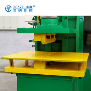 Recycle Waste or Leftover Slab Stamping Machine