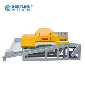 Bestlink Factory Mighty Stone Veneer Saw Machine for Cutting Cobble Stone