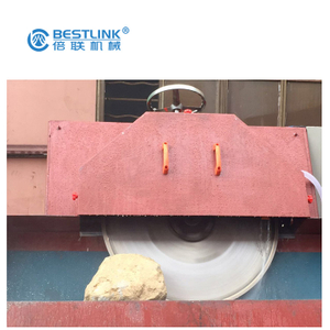 Bestlink Factory Irregular Stone Veneer Saw Cutting Machine, Thin Veneer Rock Sawing System Equipment