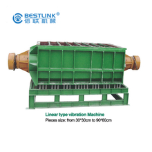 Antique Marble Granite Producing Machine, U-Shape Vibration Finishing Machines for Sale, High Efficiency Polisher for Antique Surface Stone